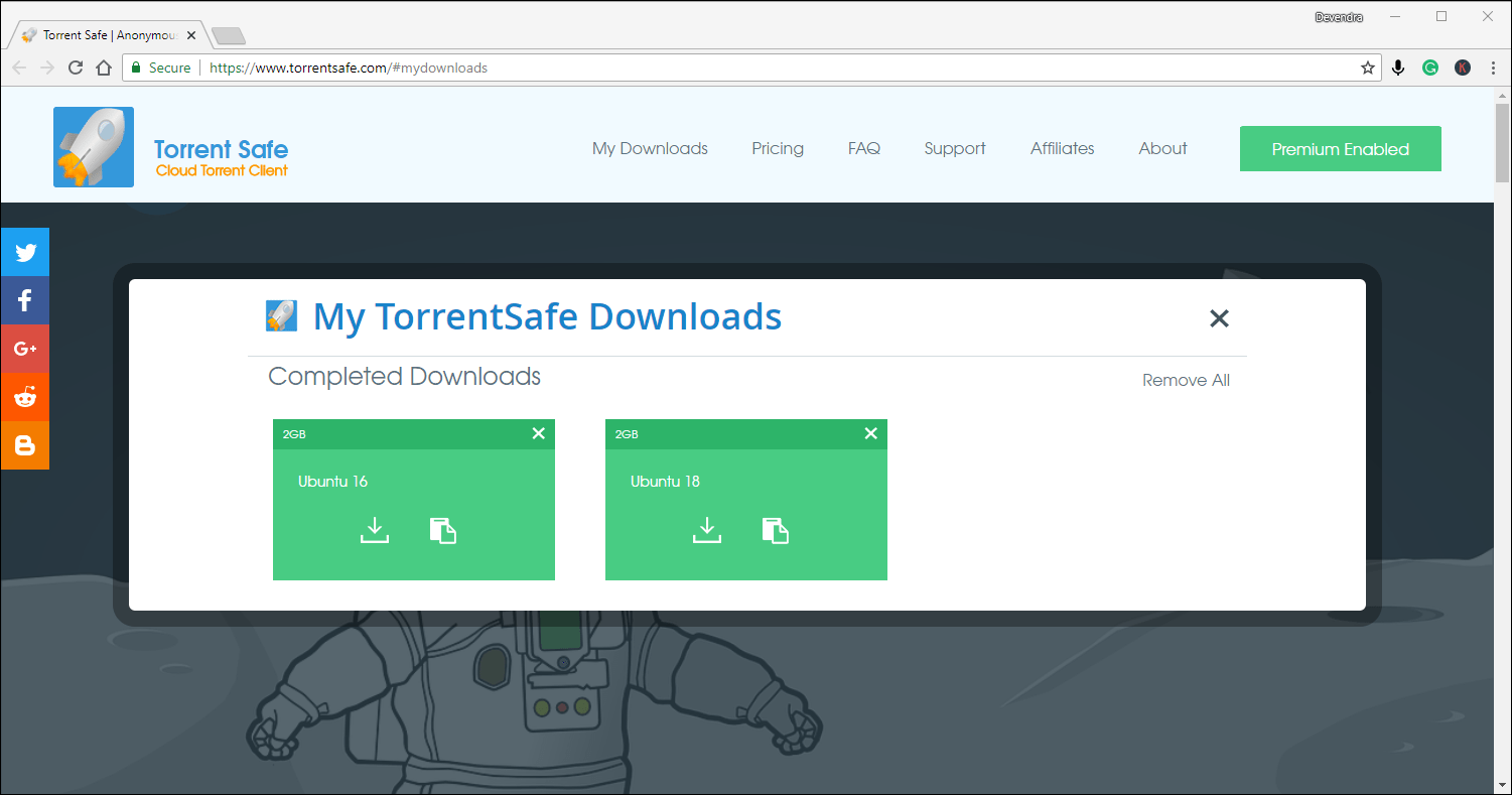 download torrent using idm 2019