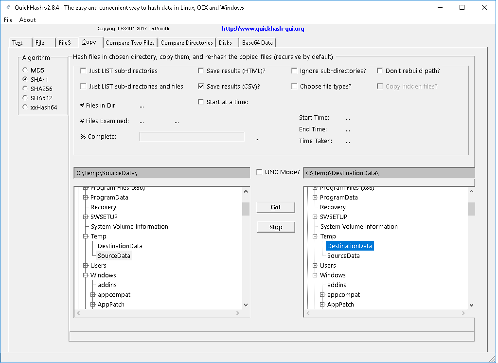 QuickHash-CopyTab