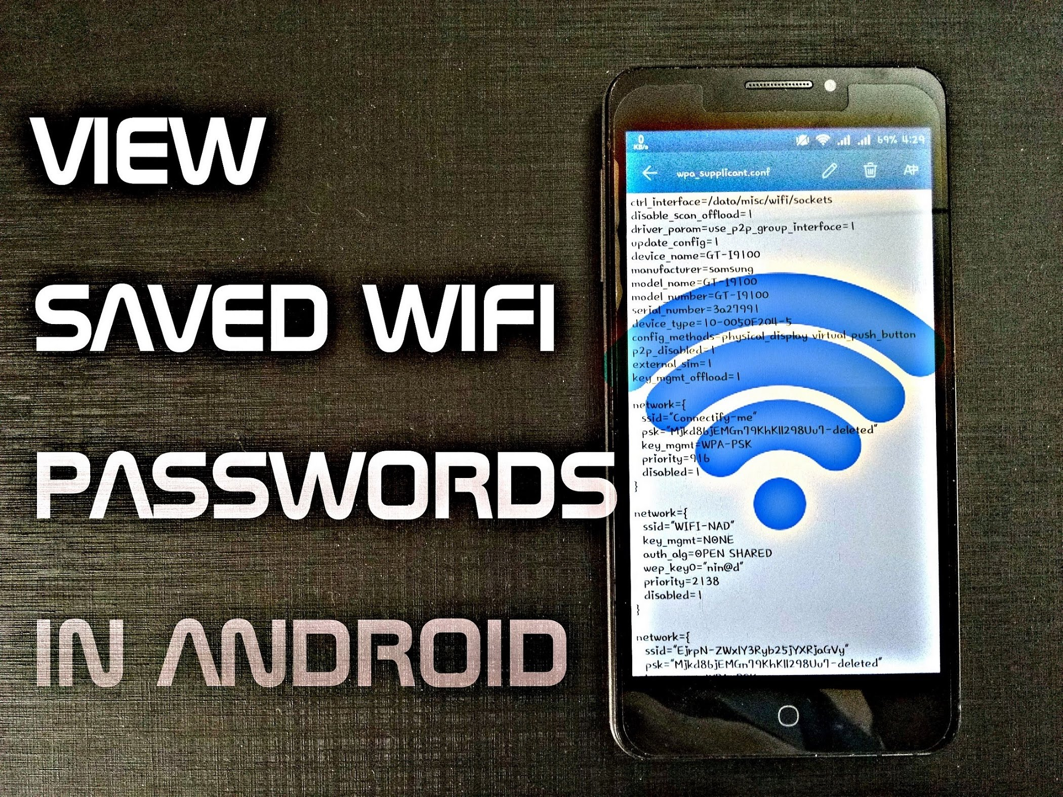 Root How To Find The Wi Fi Password On Any Android Device Quickhax