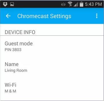 Troubleshoot chromecast connection problem