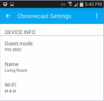 Troubleshoot chromecast connection problem