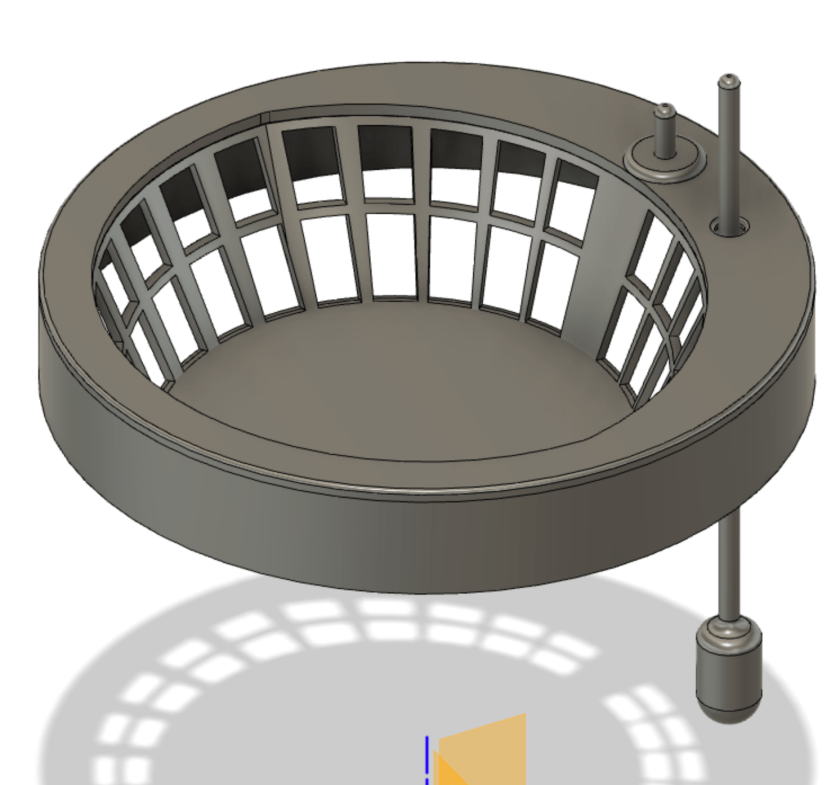 Second Hydroponic Lid and Net Cup Design for Ikea Nypon Pots