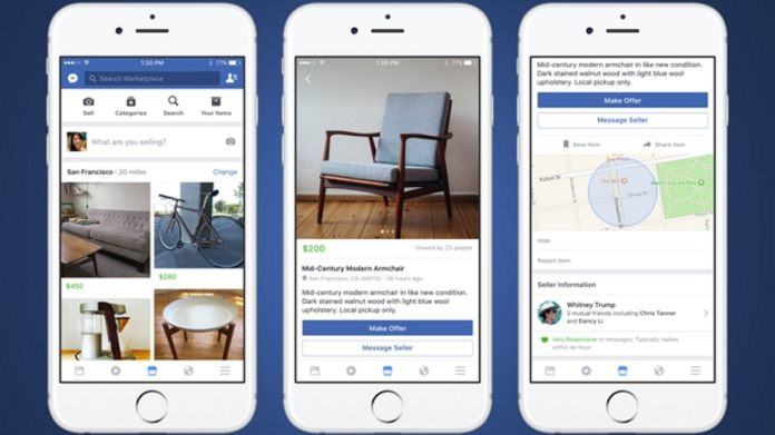 Where can I find more information about how to use Facebook Marketplace?