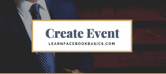 How do I create or edit an event for my Page on Facebook