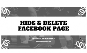 Learn how to Hide or delete a comment from a post on Facebook Pages