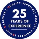 Quick Qabinets 25 years of experience