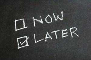 procrastination