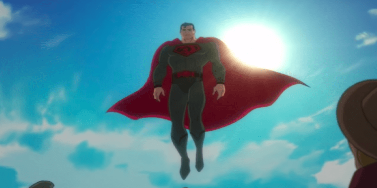 Superman: Red Son, Superman looking down on people