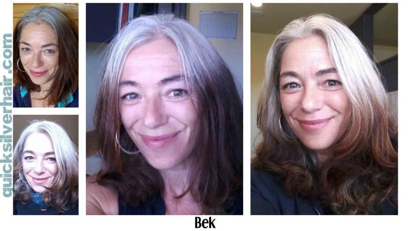 How Do You Transition from Dyed Hair To Your Natural Grey Hair ...
