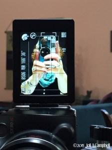 selfie of Joli with her camera