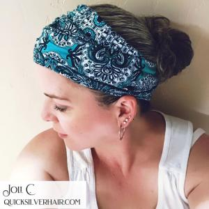 Image of Joli in a hippie headband