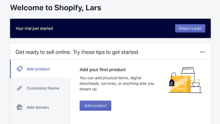Welcome to Shopify ecommerce website platform