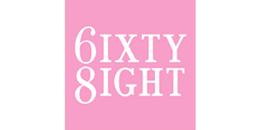 6ixty8ight logo