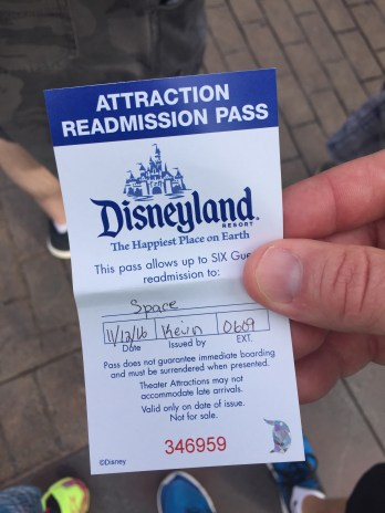 Readmission Pass!