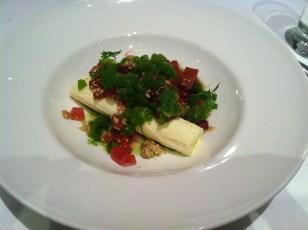 Rhubarb porridge