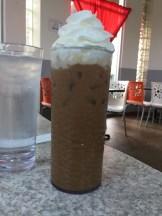 Iced French vanilla latte