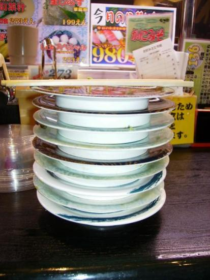 I can put away some sushi