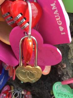 Locked in love forever!