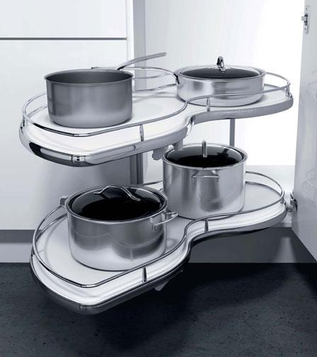 meuble de cuisine rotatif