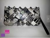 Fashion magazine clutch by beccahandbags on Etsy