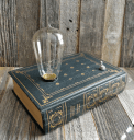 Book lamp by FoxandDyeDesign on Etsy
