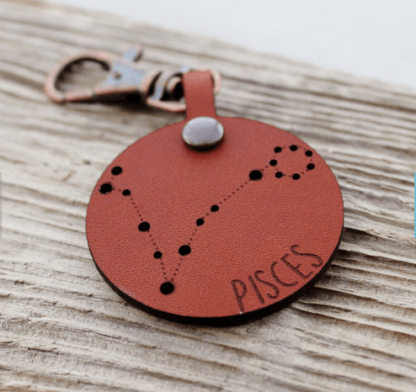 Pisces keychain by IngrainedInc