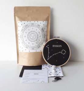 Embroidery kit by Stitchonomy