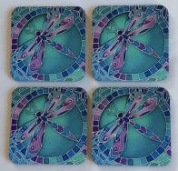 coasters by LamailaSilks