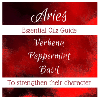 essential oils to strengthen aries character