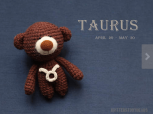 Zodiac Teddy by KnittedStoryBears