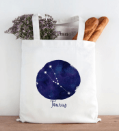 constellation bag by HeartAndWillowPrints