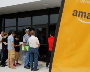 Amazon tiene un trabajo