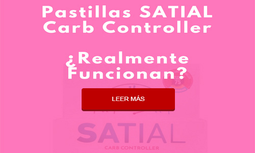 Pastillas SATIAL Carb Controller: ¿funcionan en lo absoluto para controlar el peso?