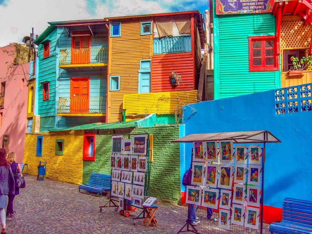 ▷ Buenos Aires: Caminito y barrio de la Boca. Qué ver, hacer, llegar, tours