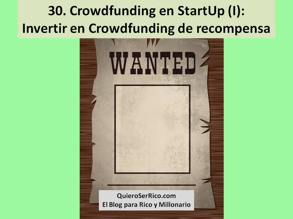 30. Crowdfunding en StartUp I Invertir en Crowdfunding de recompensa