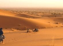 Ruta para hacer en el desierto del Sáhara