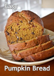 How to Prepare Pumpkin Bread