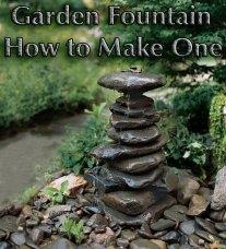 Garden Fountain - How to Make One