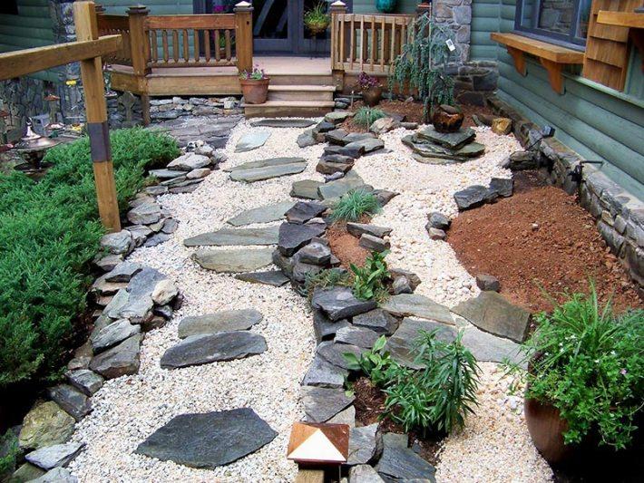 Quiet Corner:15 Stone Landscaping Ideas
