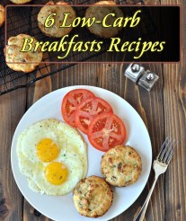 6 Low-Carb Breakfasts to Start Your Day