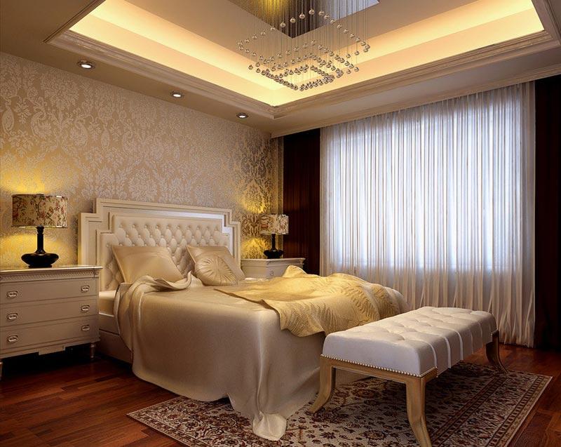 Quiet Corner:Beautiful Wallpaper Designs For Bedroom