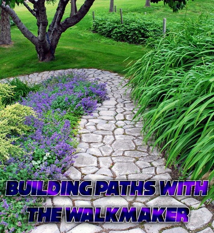 DIY – Building Paths with the Walkmaker