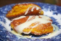 Butternut and Cinnamon Fritters