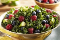 Triple Berry Kale Salad Recipe