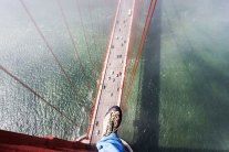 Heartstopping Photos Taken From the Top of The Golden Gate Bridge