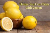 Things You Can Clean with Lemon