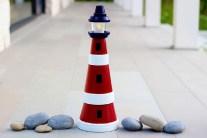 DIY - How to Make a Clay Pot Lighthouse
