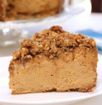 Pumpkin Walnut Cheesecake Recipe