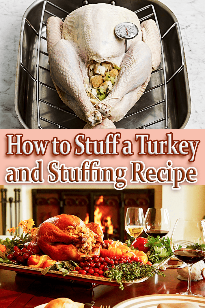 Stuffing Recipe and How to Stuff a Turkey - Quiet Corner