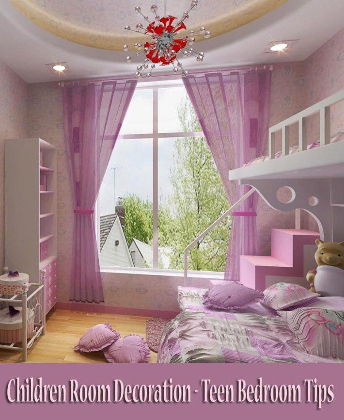 Children Room Decoration – Teen Bedroom Tips